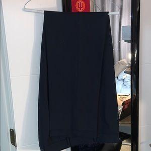 Ralph Lauren Navy Dress Slacks - 38x34